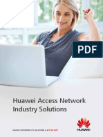 Huawei Access Network Industry Solutions V2.0