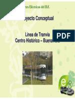 Tranvia 1 Centro Historico-Buenavista