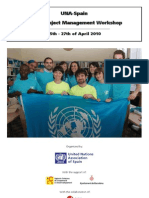 UNA-Spain MDGs Project Management Report