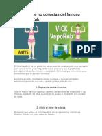 12 Usos Que No Conocías Del Famoso Vick VapoRub