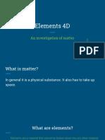 elements 4d class presentation