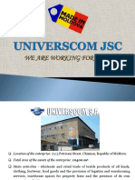 Presentation Universcom JSC