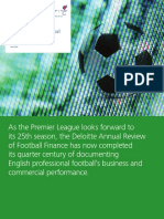 Deloitte Uk Annual Review of Football Finance 2016