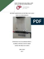 Informe Laboratorio de Mecanica de Fluido