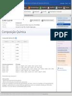 Total Materia __ Composição Química