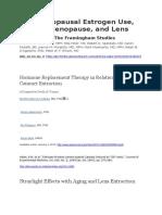 Postmenopausal Estrogen Use.docx