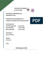 Informe 2 Laguna de Oxidacion de La Ciudad de David - Mediciones Hidrologicas