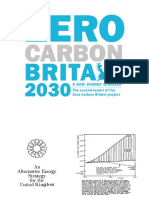 Zero Carbon Britain 2030 presentation