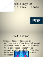 Epidemiology of Chronic Renal Disease