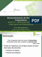 DSC Aula1.3 Motivacao VisaoGeral