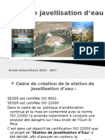 Station de Javellisation d'Eau