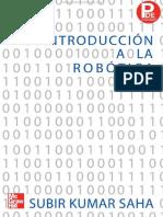 Introducción a La Robótica - Subir Kumar Saha - 1ra Edición