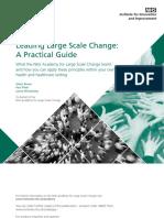 Leading Large Scale Change Part 1