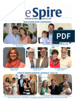 The Spire newsletter, May 23, 2017