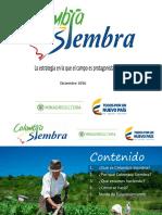 Colombia Siembra Diciembre 2016
