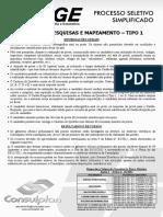 Consulplan_agente de Pesquisas e Mapeamento - Tipo 2552