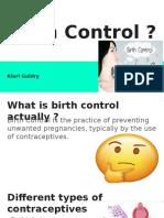 birth control -
