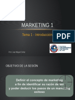 MARKETING 1 - 1. Introducción