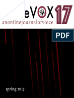 BlazeVOX 17 | an online journal of voice | Spring 2017