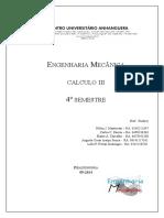 Trabalho de Calculo III