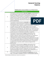 Smarter Balanced Mathematics General Rubrics (2)