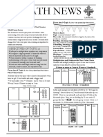 4th grade module 1 newsletter