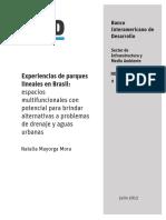 Experiencias de Parques Lineales en Brasil Espacios Multifuncionales Con Potencial Para Brindar