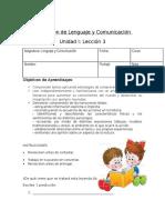 Evaluación Unidad I Lección 3 (1)