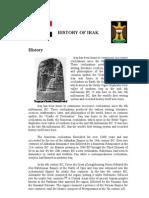 History of Irak