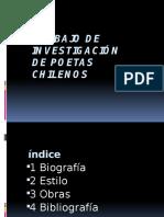 Trabajo de investigación de poetas chilenos.pptx