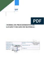 Esterilización material quirurgico