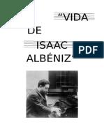 Biografía de Isaac Albeniz