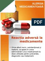 Alergia Medicamentoasa