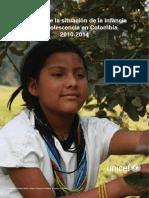 2014-Análisis Situación Infancia y Adolescencia Colombia 2010-2014