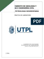 Informe de Petrologia Dedimetaria Lamina Delgada