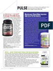 SCIENCE PULSE MAX MUSCLE NUTRITION - MAY 2017