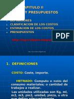 Costosypresupuestos Capituloii 140408184748 Phpapp02
