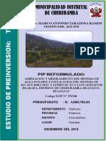 Pip Reformulado