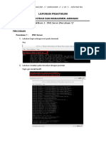 Laporan Praktikum Administrasi dan Manajemen Jaringan DNS Server
