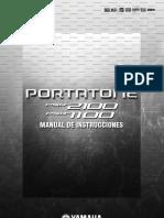 Manual Psr 1100