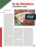 Sobre La Historia Del Formalismo Ruso en Brasil