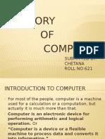 history of computers presentation