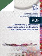 CNJ Convenios y Tratados Internacionales en Materia de Derec