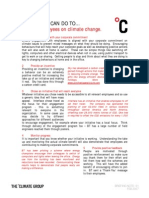 10 things you can do to motivate employee on climate change