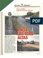 Revista Tráfico - nº 39 - Diciembre de 1988. Reportaje Kilómetro y kilómetro