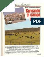 Revista Tráfico - nº 32 - Abril de 1988. Reportaje Kilómetro y kilómetro