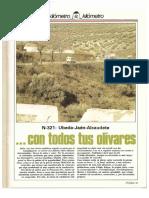 Revista Tráfico - nº 31 - Marzo de 1988. Reportaje Kilómetro y kilómetro
