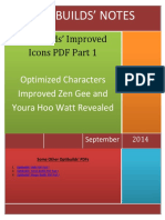 Optibuilds Icon Rebuilds PDF Part I