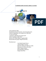 Proyecto exportación (distribución comercial II) G09