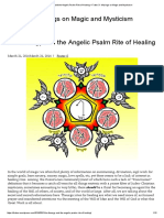 On Theurgy and the Angelic Psalm Rite of Healing – Frater S- Musings on Magic and Mysticism